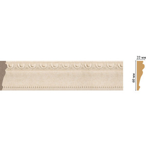 Молдинг Decomaster Ионика цвет 18D 60х22х2400 мм (161-18D) молдинг decomaster античное золото цвет 552 60х22х2400 мм 161 552