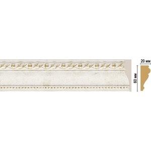 Молдинг Decomaster STONE LINE цвет 40 60х22х2400 мм (161-40) молдинг decomaster античное золото цвет 552 60х22х2400 мм 161 552