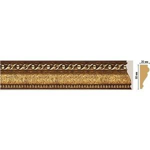 Молдинг Decomaster STONE LINE цвет 43 60х22х2400 мм (161-43) молдинг decomaster античное золото цвет 552 60х22х2400 мм 161 552