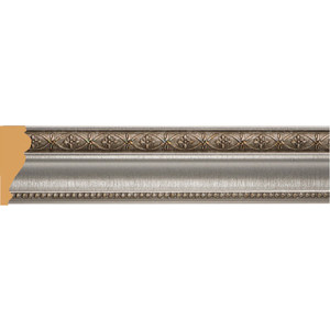 Молдинг Decomaster Серебристый металлик цвет 55 60х22х2400 мм (161-55)