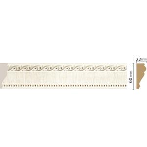 Молдинг Decomaster Прованс цвет 6 60х22х2400 мм (161-6)