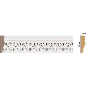 Молдинг Decomaster Эрмитаж цвет 60 60х17х2400 мм (161B-60) основание decomaster цвет белый 220х220х130 мм 90135 4