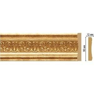 Молдинг Decomaster Золотой глянец цвет 126 90х12х2400 мм (163-126)