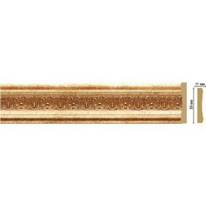 Молдинг Decomaster Золотой глянец цвет 126 59х11х2400 мм (164-126)