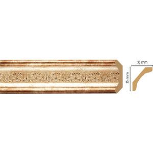 Плинтус Decomaster Венецианская бронза цвет 127 35х35х2400 мм (167S-127)