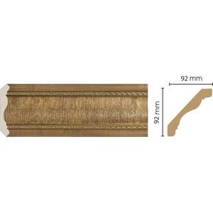Плинтус Decomaster Классика цвет 4 92х92х2400 мм (171-4)  плинтус молдинг 42х42х2400 мм decomaster прованс