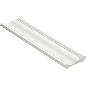 Плинтус Decomaster Белый матовый цвет 16 57х57х2400 мм (179-16)