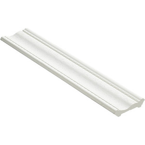 Плинтус Decomaster Белый матовый цвет 16 42х42х2400 мм (180-16)  плинтус молдинг 42х42х2400 мм decomaster прованс