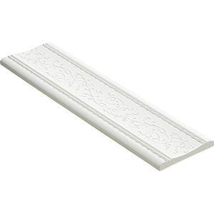Молдинг Decomaster Белый матовый цвет 16 80х8х2400 мм (184-16)