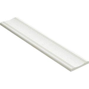 Молдинг Decomaster Белый матовый цвет 16 60х8х2400 мм (185-16)