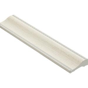Молдинг Decomaster Ясень белый цвет 15 60х18х2400 мм (192-15)
