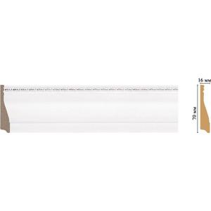 Плинтус Decomaster Эрмитаж цвет 60 70х16х2400 мм (193-60) decomaster багет decomaster 808 552 размер 61х26х2900мм