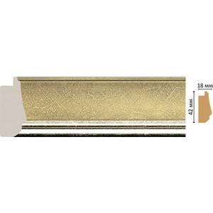 Багет Decomaster Ренессанс цвет 1243 42х18х2900 мм (477-1243)