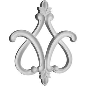 Орнамент Decomaster DECOMASTER-2 цвет белый 86х105х12 мм (66032)