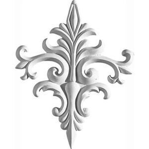 Орнамент Decomaster DECOMASTER-2 цвет белый 305х242х19 мм (66033)