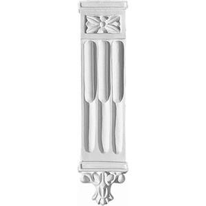 Орнамент Decomaster DECOMASTER-2 цвет белый 35х150х18 мм (66057)