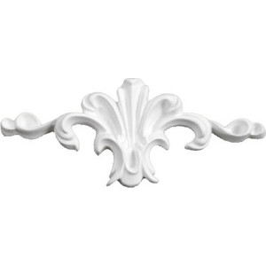 Орнамент Decomaster DECOMASTER-2 цвет белый 135х60х20 мм (66058)