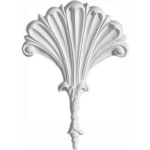Орнамент Decomaster DECOMASTER-2 цвет белый 100х140х22 мм (66062)