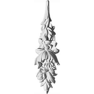Орнамент Decomaster DECOMASTER-2 цвет белый 150х40х18 мм (66084)