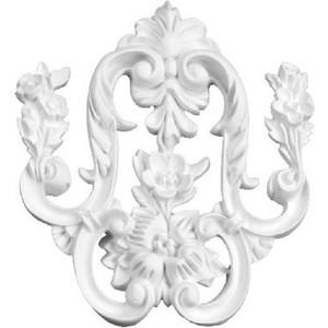 Орнамент Decomaster DECOMASTER-2 цвет белый 150х175х18 мм (66090)