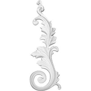 Орнамент Decomaster DECOMASTER-2 цвет белый 135х400х25 мм (66098 R)