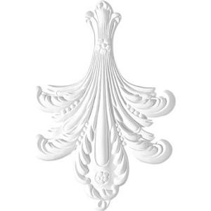 Орнамент Decomaster DECOMASTER-2 цвет белый 160х225х18 мм (66126)