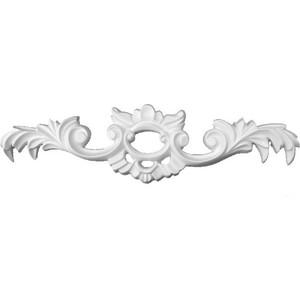 Орнамент Decomaster DECOMASTER-2 цвет белый 265х65х15 мм (66134)