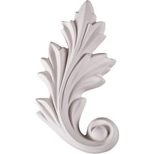 Орнамент Decomaster DECOMASTER-2 цвет белый 145х80х16 мм (66141 L)