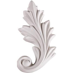 Орнамент Decomaster DECOMASTER-2 цвет белый 145х80х16 мм (66141 R)