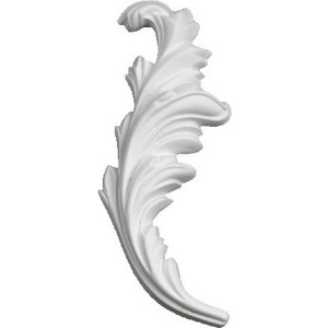 Орнамент Decomaster DECOMASTER-2 цвет белый 55х150х15 мм (66142 L)