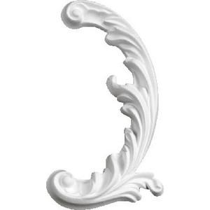 Орнамент Decomaster DECOMASTER-2 цвет белый 90х160х15 мм (66150 R)
