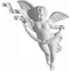 Орнамент Decomaster DECOMASTER-2 цвет белый 140х180х30 мм (66152 R)