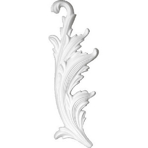 Орнамент Decomaster DECOMASTER-2 цвет белый 80х230х20 мм (66159 L)