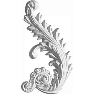 Орнамент Decomaster DECOMASTER-2 цвет белый 115х205х18 мм (66161 L)