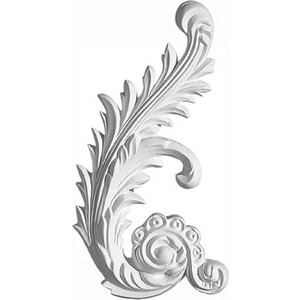 Орнамент Decomaster DECOMASTER-2 цвет белый 115х205х18 мм (66161 R)