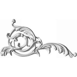 Орнамент Decomaster DECOMASTER-2 цвет белый 200х100х13 мм (66163 L)