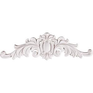 Орнамент Decomaster цвет белый 125х410х18 мм (68101-1)