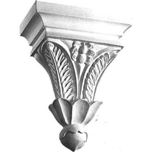 Консоль Decomaster DECOMASTER-2 цвет белый 180х90х230 мм (68613)