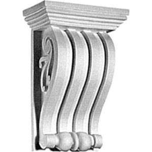 Консоль Decomaster DECOMASTER-2 цвет белый 145х90х225 мм (68655)