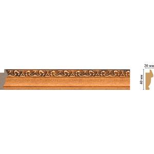 Молдинг Decomaster Эрмитаж цвет 1223 40х20х2900 мм (807-1223)