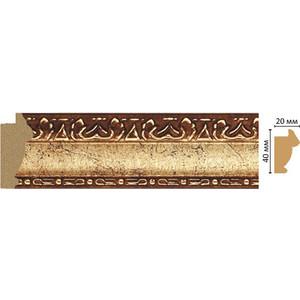 Молдинг Decomaster Античное золото цвет 552 40х20х2900 мм (807-552) молдинг decomaster античное золото цвет 552 85х25х2400 мм 152 552