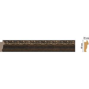 Молдинг Decomaster Ионика цвет 56 40х20х2900 мм (807-56)