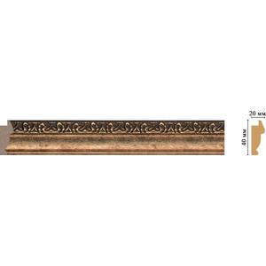 Молдинг Decomaster Ионика цвет 57 40х20х2900 мм (807-57)