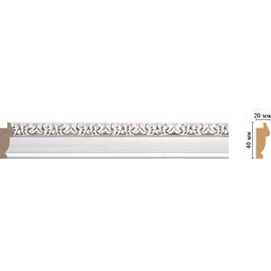 Молдинг Decomaster Эрмитаж цвет 60 40х20х2900 мм (807-60)