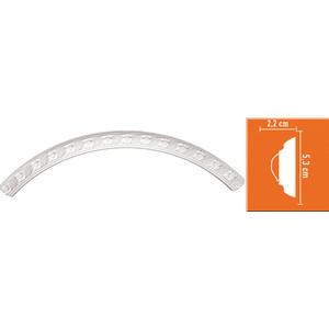 Радиус Decomaster DECOMASTER-2 цвет белый R 550/500 мм (898102-100)