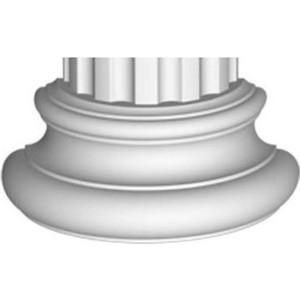 Полуоснование Decomaster DECOMASTER цвет белый 320х160х125 мм (90018-4-H)