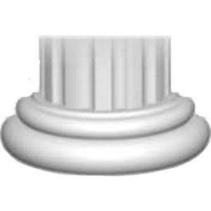 Полуоснование Decomaster DECOMASTER цвет белый 440х220х165 мм (90024-4-H)