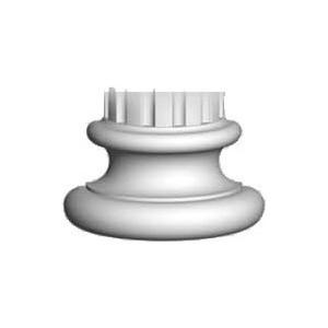Полуоснование Decomaster DECOMASTER цвет белый 220х110х130 мм (90135-4-H)