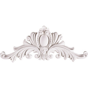 Орнамент Decomaster цвет белый 320х125х35 мм (91268-1)