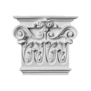 Капитель для камина Decomaster цвет белый 205х190х65 мм (92815-2L)
